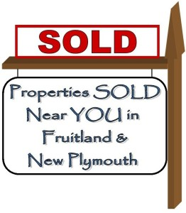 Fruitland and New Plymouth Real Estate sold properties